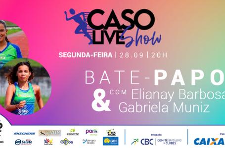 BATE-PAPO COM AS ATLETAS ELIANAY BARBOSA E GABRIELA MUNIZ
