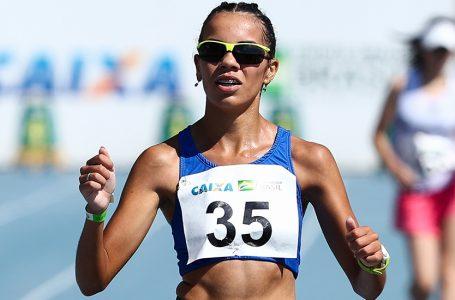 Gabriela Muniz vence marcha atlética no Brasileiro Sub-20