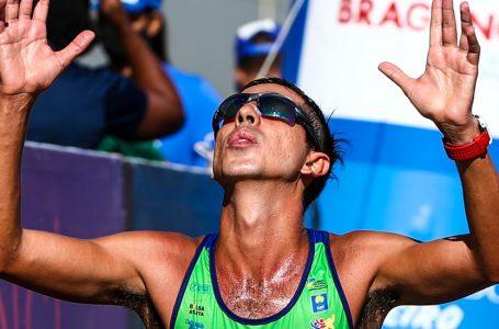 COPA BRASIL – Caio Bonfim obtém o 10º título seguido