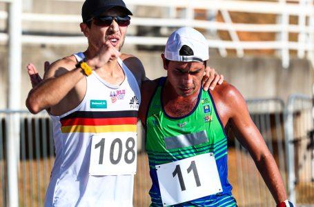 Caio Bonfim bate recorde em pista e ratifica índice olímpico na marcha atlética