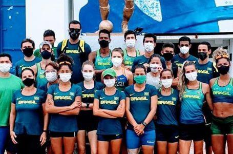 Brasileiros cumprem quarentena em Guayaquil para a Copa de Marcha