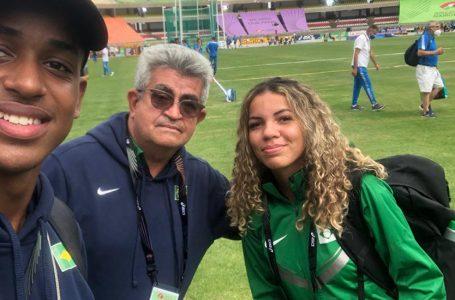 Gaby Muniz e Vinicius Galeno participam do Campeonato Mundial Sub-20