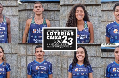 CASO brilha mais uma vez no Campeonato Brasileiro Loterias Caixa de Atletismo Sub-23